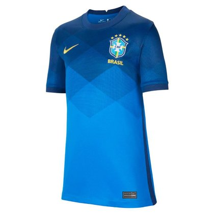 Camisa Seleção Brasil Juvenil II 20/21 s/n° Torcedor Nike