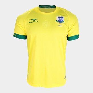Camisa Seleção Brasileira Futsal I 2019 s/nº Torcedor Penalty Masculina