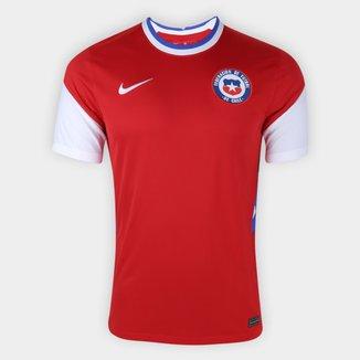 Camisa Seleção Chile Home 20/21 s/n° Torcedor Nike Masculina