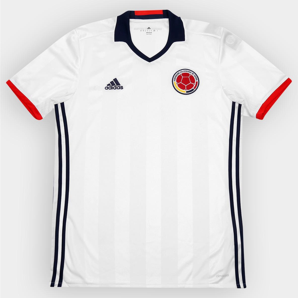 f6c17d320e20b Camisa Seleção Colômbia Home 2016 s nº Torcedor Adidas Masculina - Compre  Agora