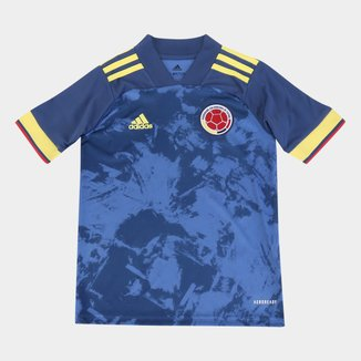 Camisa Seleção Colômbia Infantil Away 20/21 s/n° Adidas