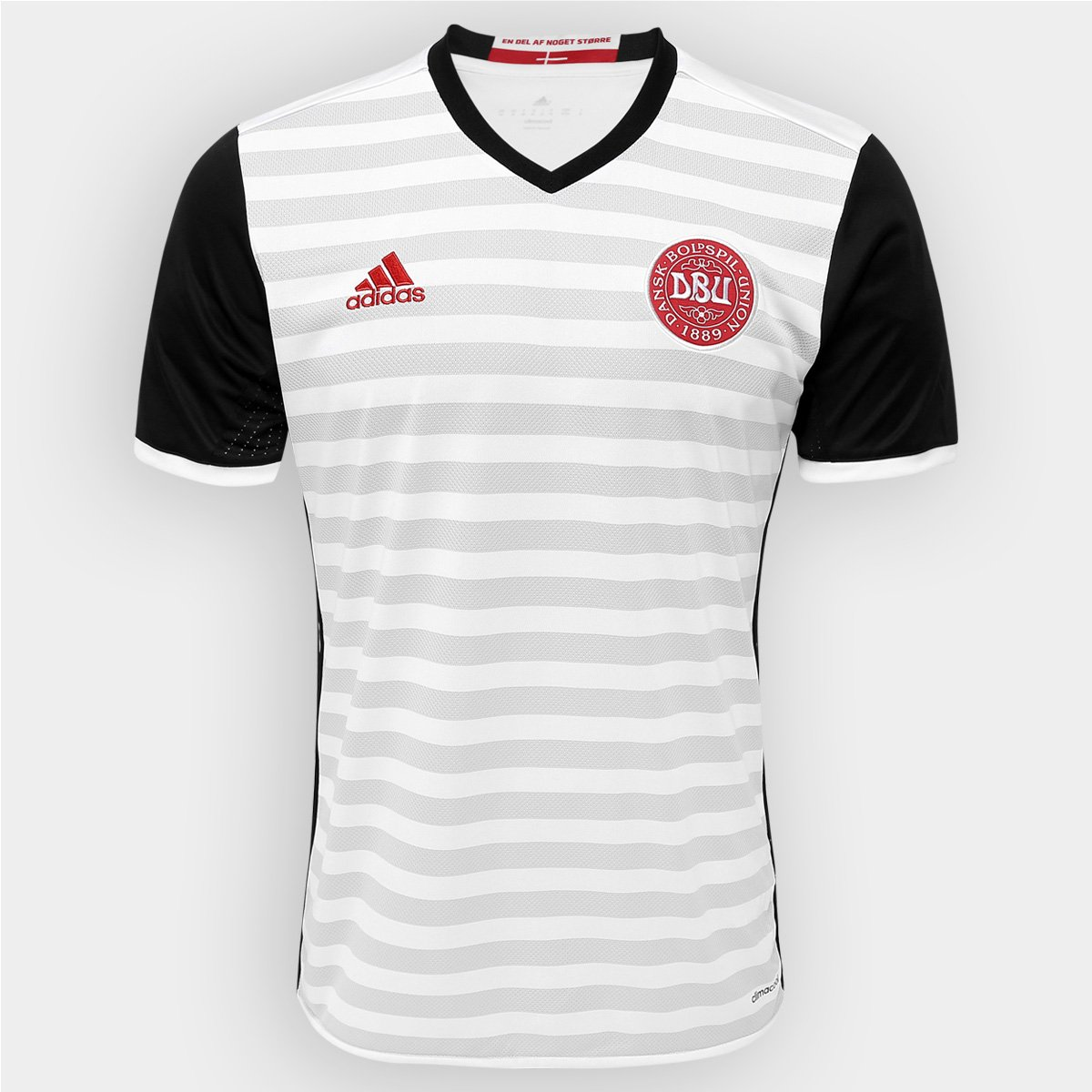 Camisa Seleção Dinamarca Away 2016 s nº Torcedor Adidas Masculina - Compre  Agora  b737c4af6ffc0
