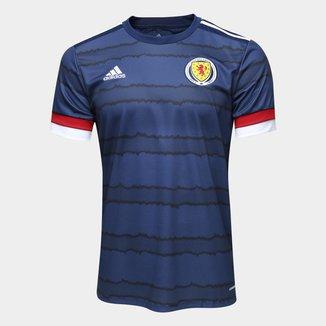 Camisa Seleção Escócia Home 20/21 s/n° Torcedor Adidas Masculina