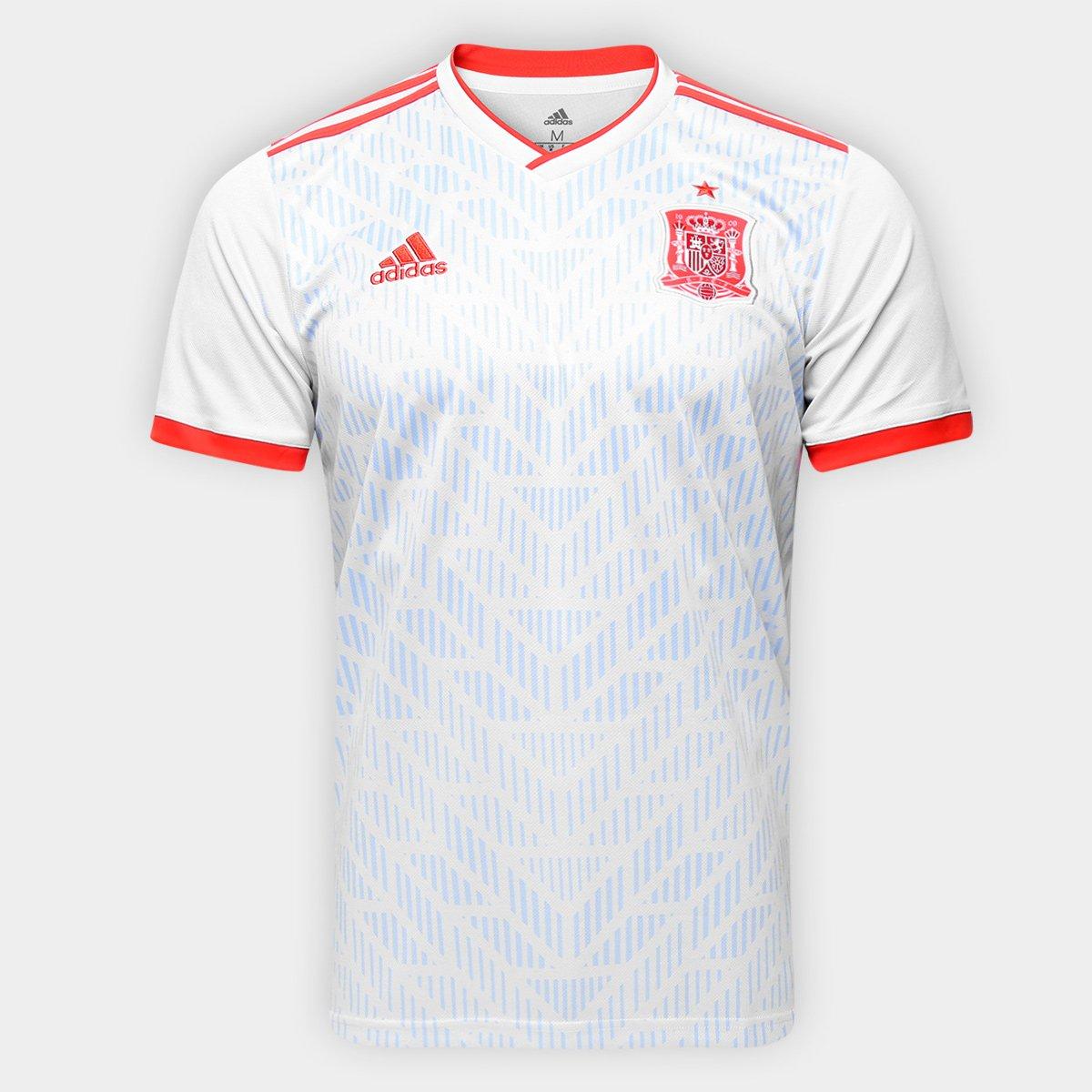 c8da18f0a1 ... Camisa Seleção Espanha Home 2018 n° 2 Carvajal - Torcedor Adidas  Masculina ...