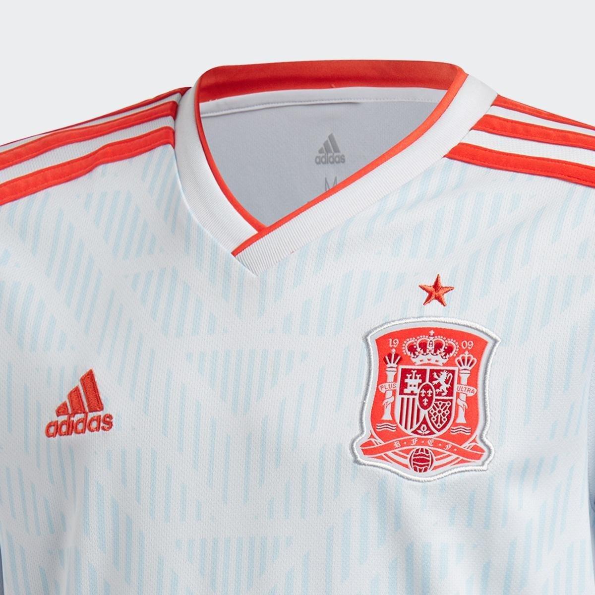 54dd33d2cf ... Camisa Seleção Espanha Infantil Away 18 19 s n° - Torcedor Adidas ...