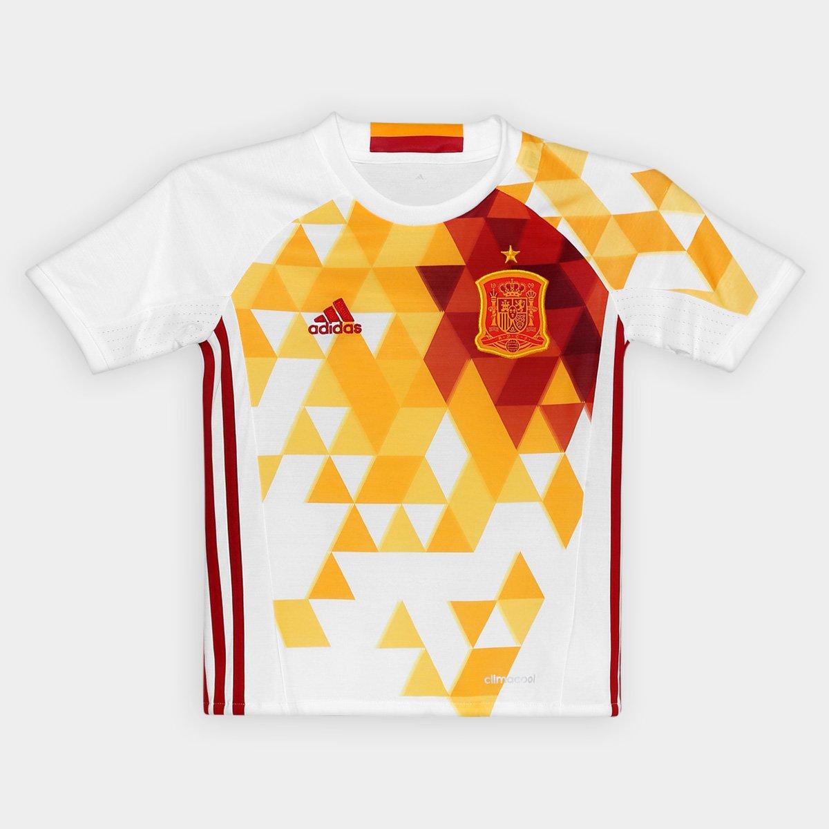 5d1573fd3c Camisa Seleção Espanha Infantil Away 2016 s nº Torcedor Adidas - Compre  Agora