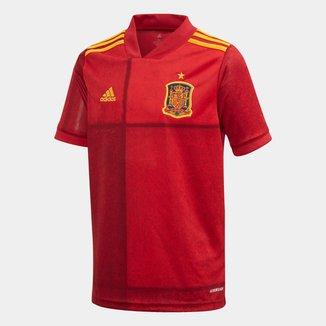 Camisa Seleção Espanha Infantil Home 20/21 s/nº Adidas