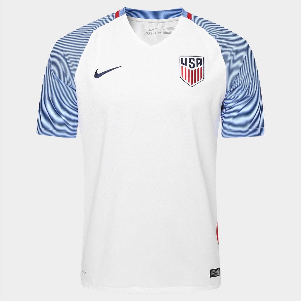49dca868f3 Camisa Seleção Estados Unidos Home 2016 s nº - Torcedor Nike Masculina - Compre  Agora