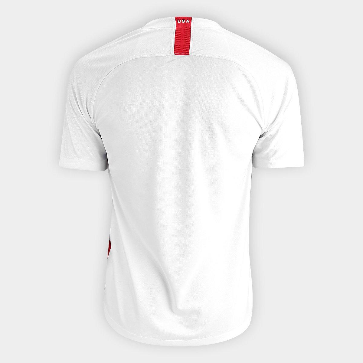 42dfb7d345 Camisa Seleção Estados Unidos Home 2018 s n° - Torcedor Nike Masculina .