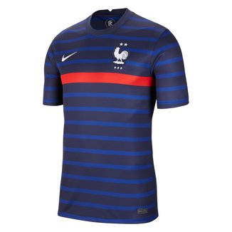 Camisa Seleção França Home 20/21 s/n° Torcedor Nike Masculina