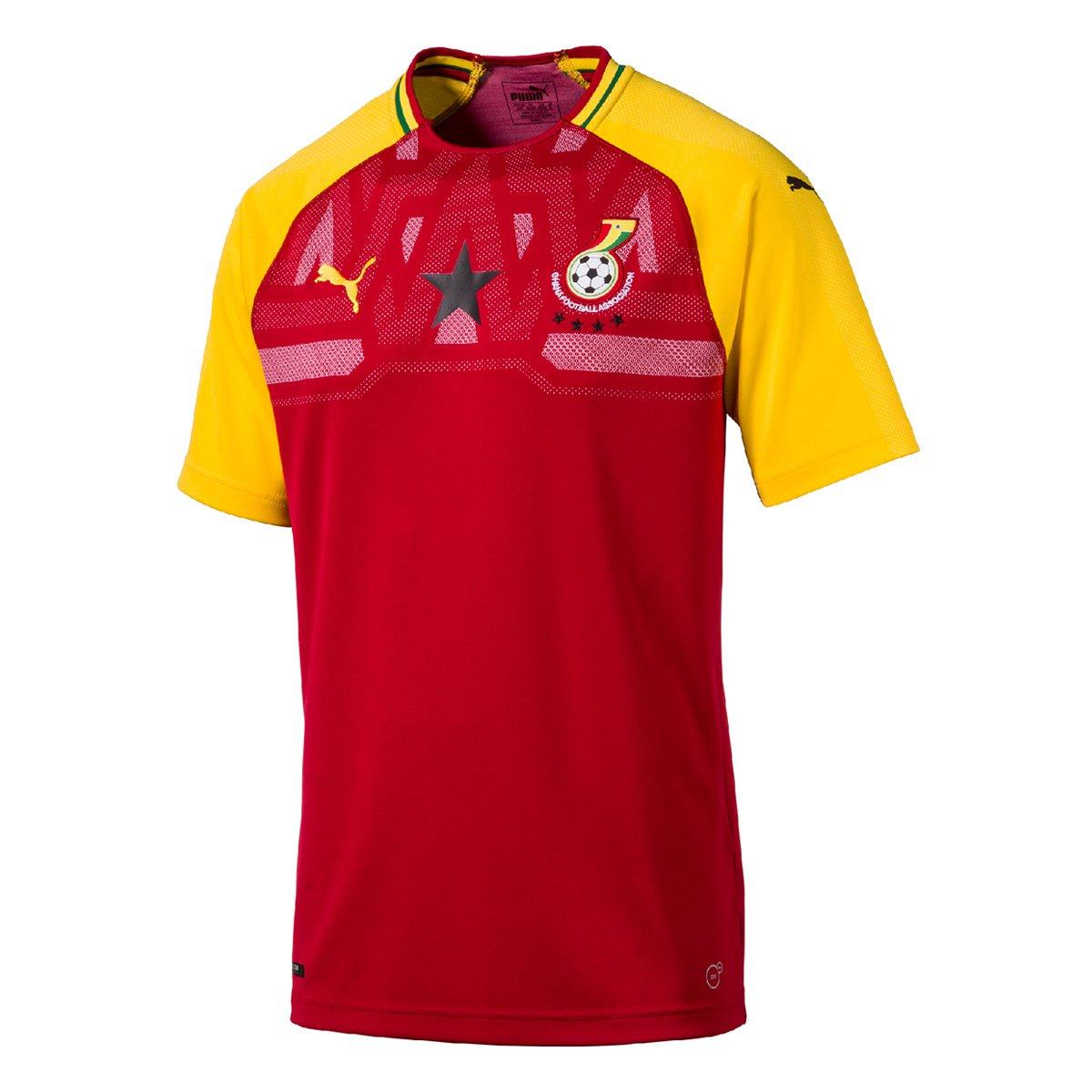 Camisa Seleção Ghana Home 2018 s nº - Torcedor Puma Masculina - Compre  Agora  0170647162814