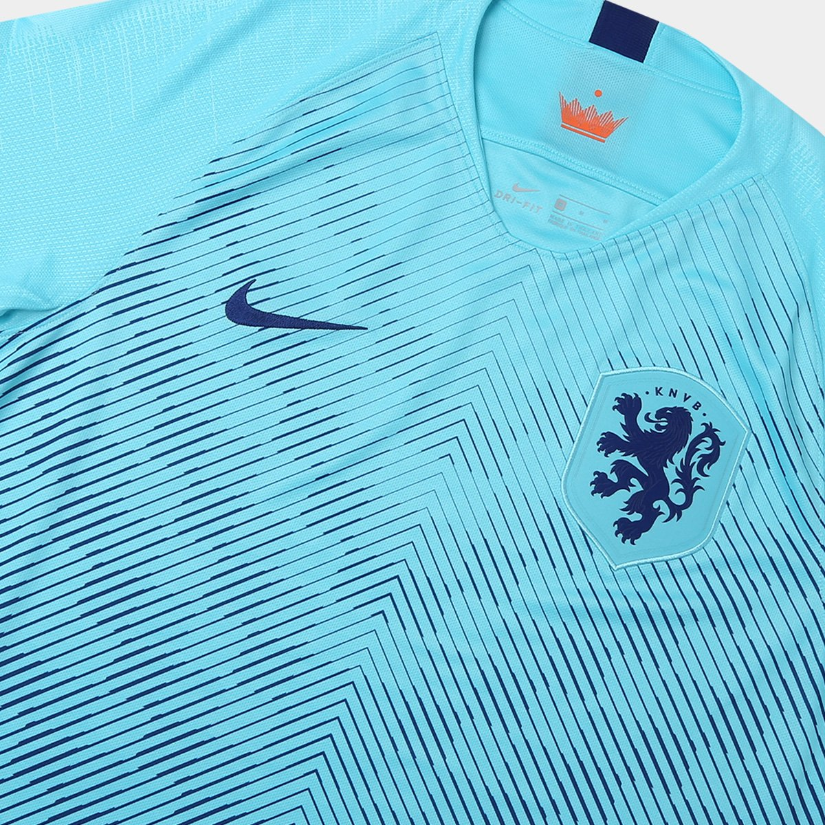 b128af3445 Camisa Seleção Holanda Away 2018 s n° Torcedor Nike Masculina ...