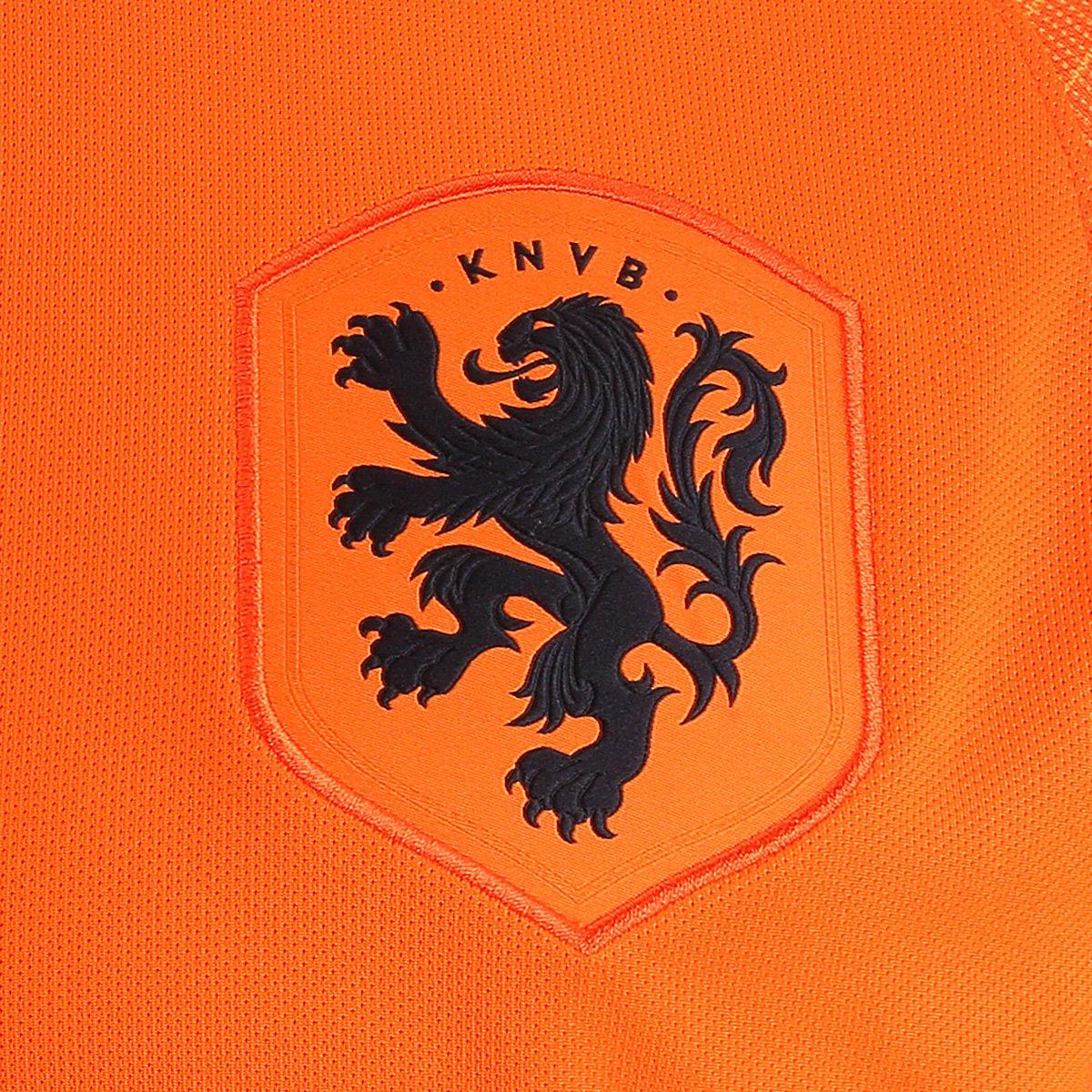 9f5bde533c ... Camisa Seleção Holanda Home 2018 s n° Torcedor Nike Masculina ...