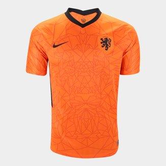 Camisa Seleção Holanda Home 20/21 s/n° Torcedor Nike Masculina