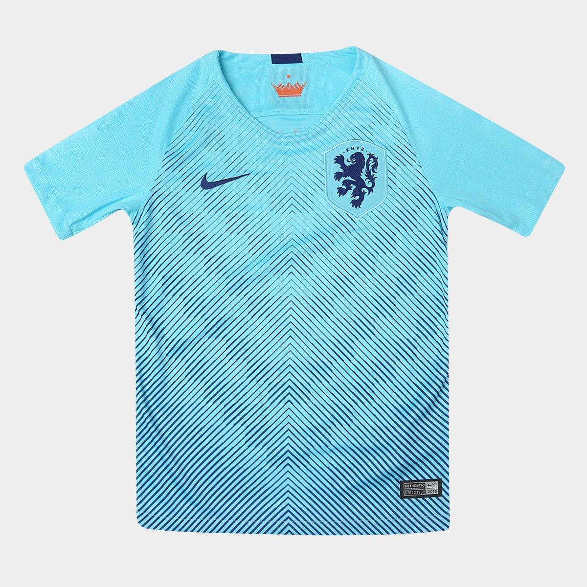 Lubricar fórmula Insatisfactorio  Camisa Seleção Holanda Infantil Away 2018 s/n° Torcedor Nike | Netshoes
