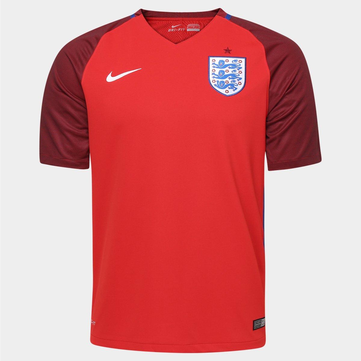 5f980c8413 Camisa Seleção Inglaterra Away 2016 s nº Torcedor Nike Masculina - Compre  Agora