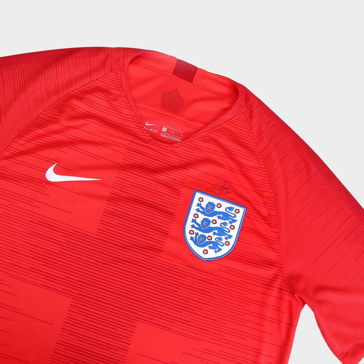 1bb1612215 Camisa Seleção Inglaterra Away 2018 s n° Torcedor Nike Masculino ...