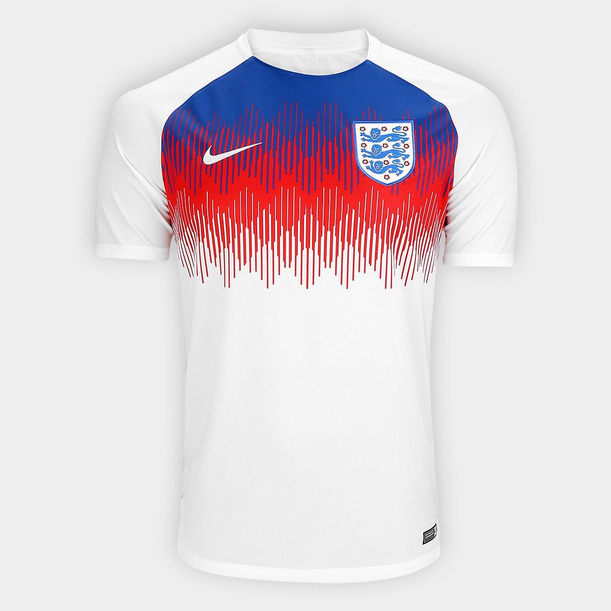 5fe84972e642a Camisa Seleção Inglaterra Dry Squad Nike Masculina - Compre Agora ...