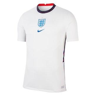 Camisa Seleção Inglaterra Home 20/21 s/n° Torcedor Nike Masculina