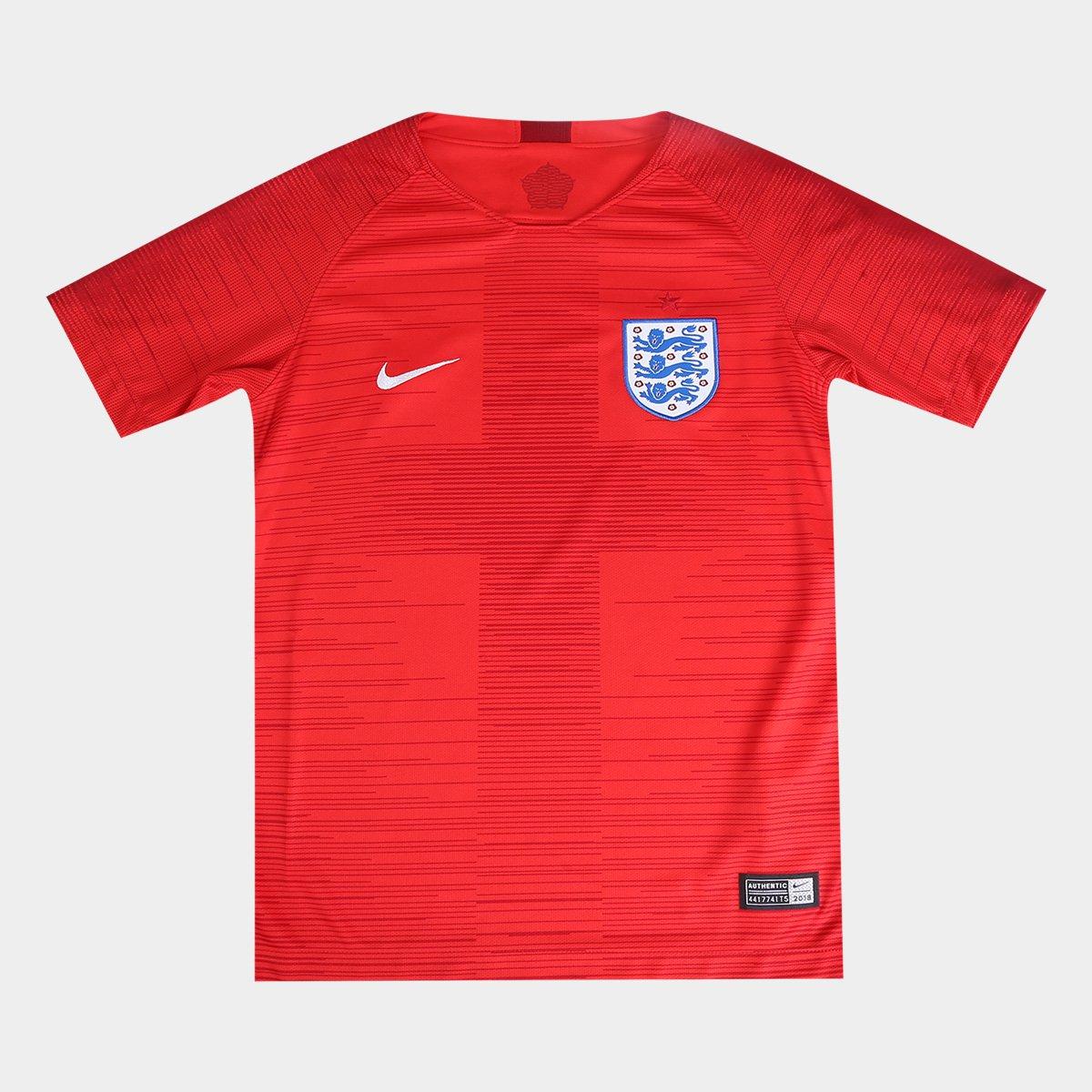e38c3e000ae3d Camisa Seleção Inglaterra Juvenil Away 2018 s n° Torcedor Nike - Compre  Agora