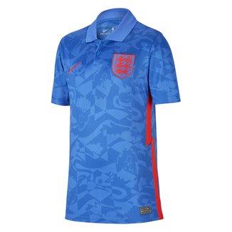 Camisa Seleção Inglaterra Juvenil Away 20/21 s/n° Torcedor Nike
