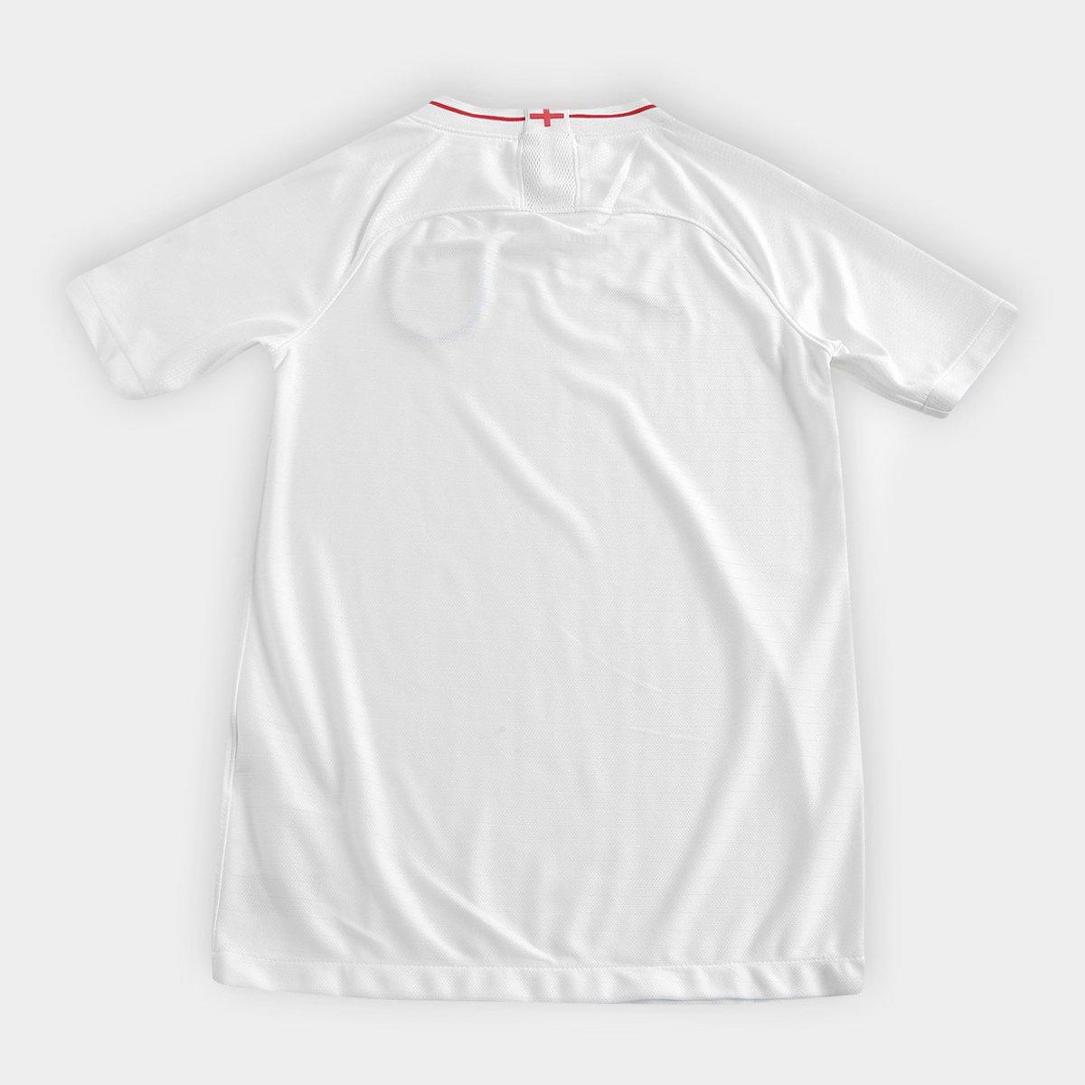 Seleção Home Inglaterra s Camisa Torcedor Nike 2018 Branco n° Juvenil 6vBttxwdq