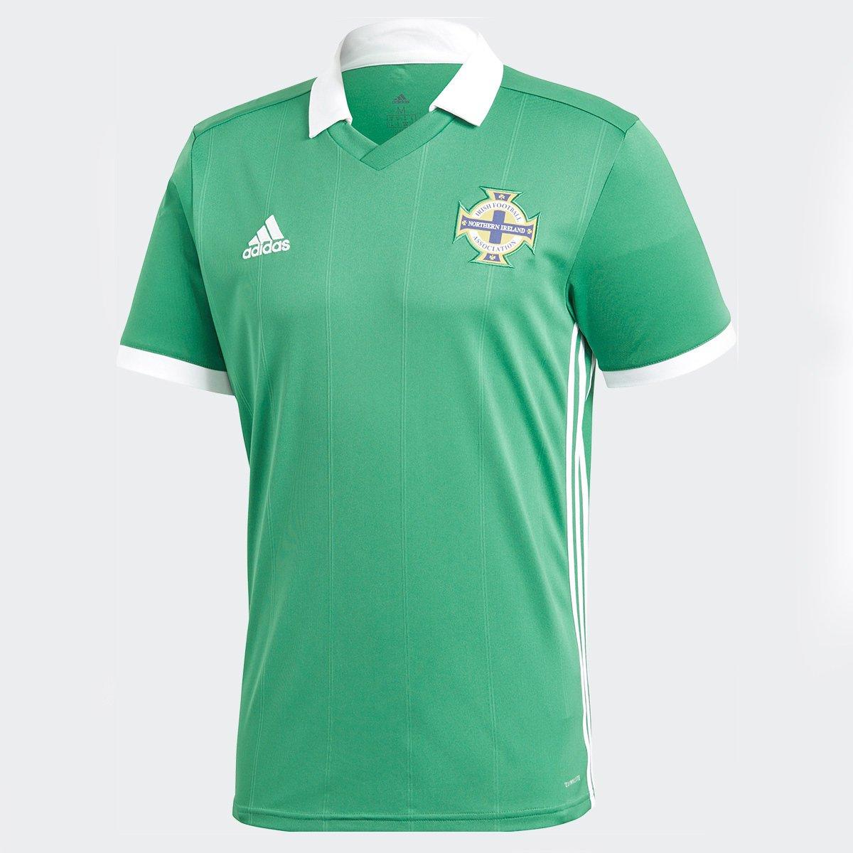 37b8ddbd195b5 Camisa Seleção Irlanda do Norte Home 17 18 s n° - Torcedor Adidas Masculina  - Verde - Compre Agora