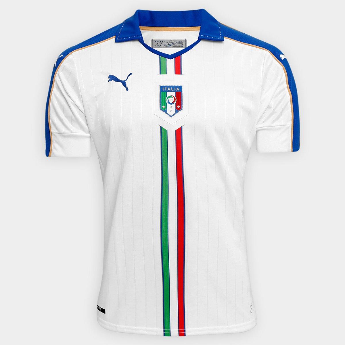Camisa Seleção Itália Away 15 16 s nº - Torcedor Puma Masculino - Compre  Agora  89dab14cf9634