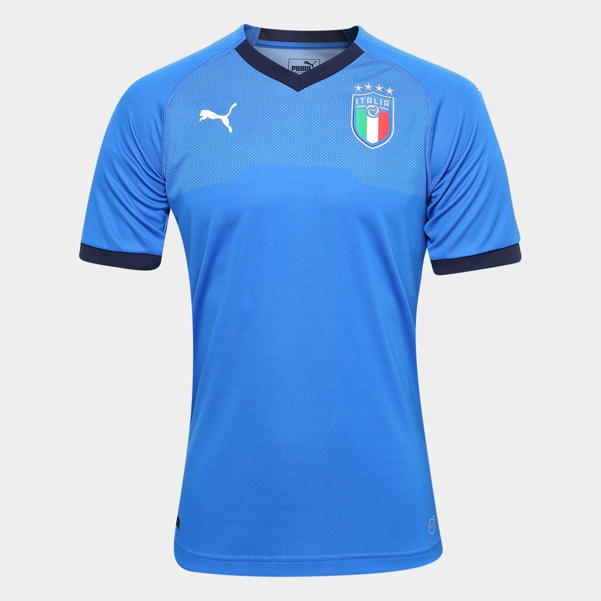 Camisa Seleção Itália Home 2018 s n° - Torcedor Puma Masculina - Compre  Agora  4893d4f48e50c