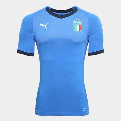 3ddb8803601db Camisa Seleção Itália Home s n° 18 19 Jogador Puma Masculina - Compre Agora