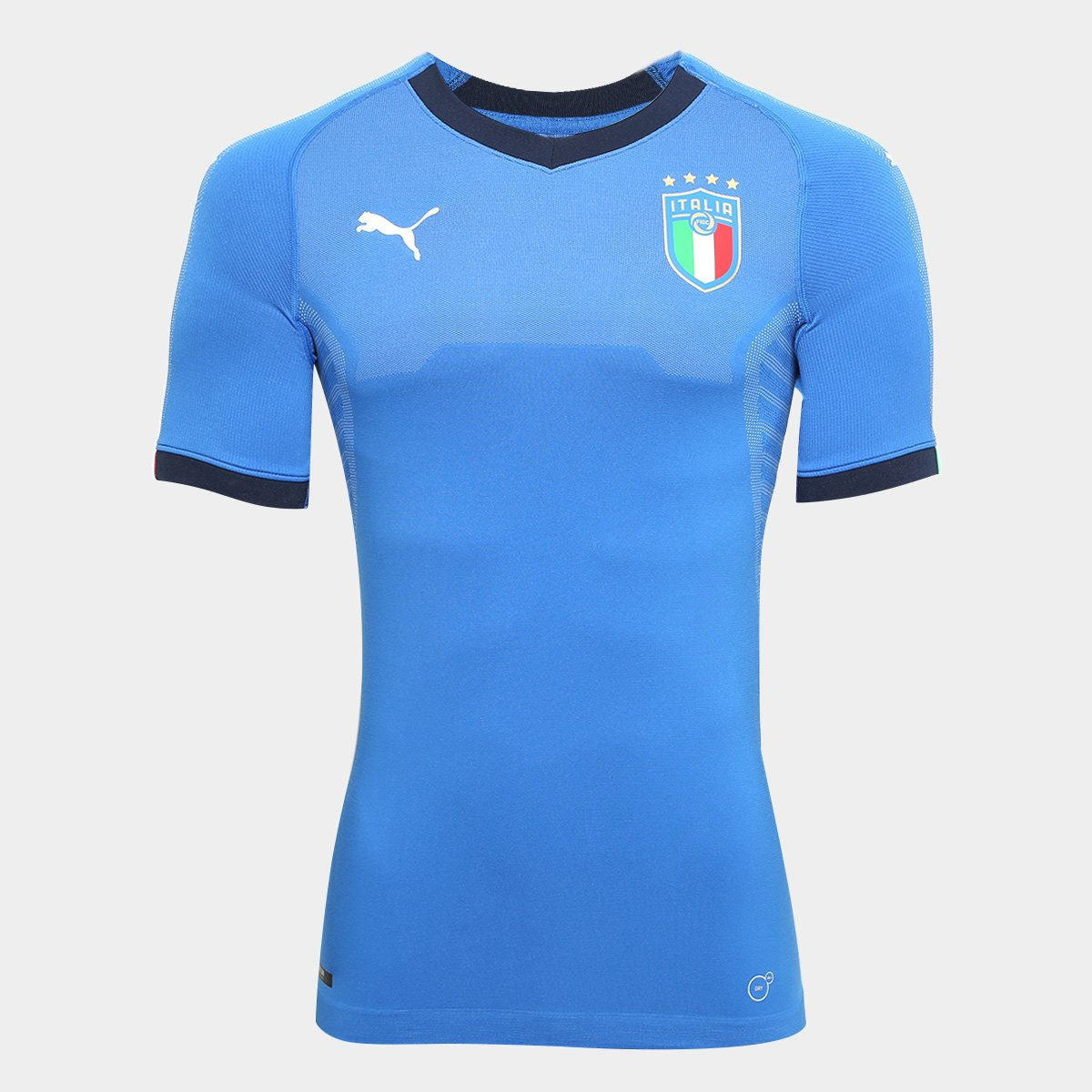 0d51532f43 Camisa Seleção Itália Home s n° 18 19 Jogador Puma Masculina - Compre Agora
