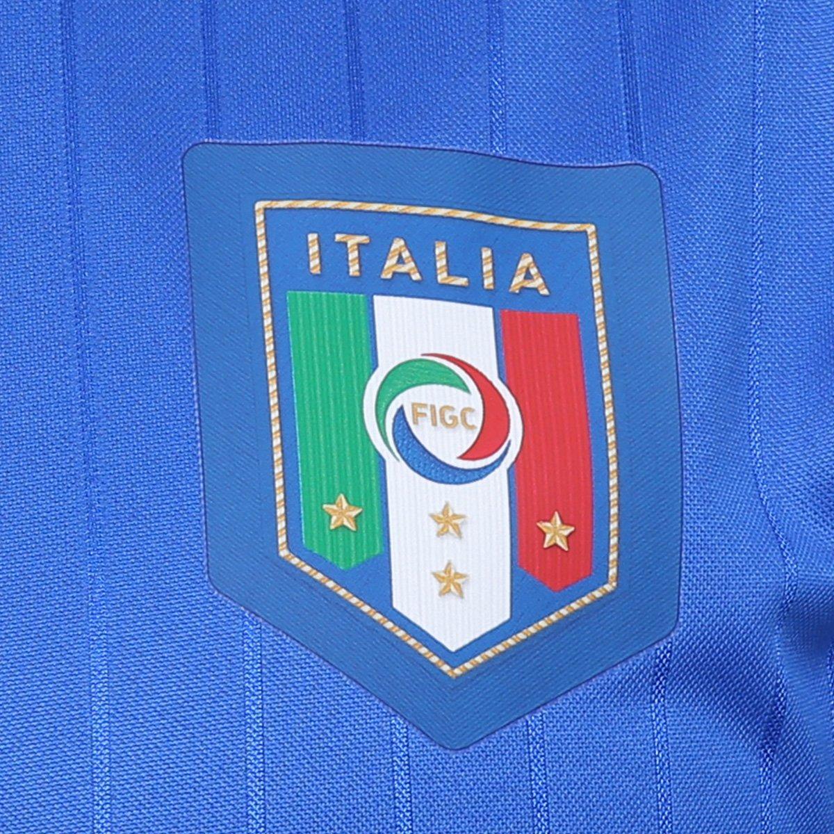 ... Camisa Seleção Itália Home s nº 2016 Torcedor Puma Masculina ... 713fcf514e22d