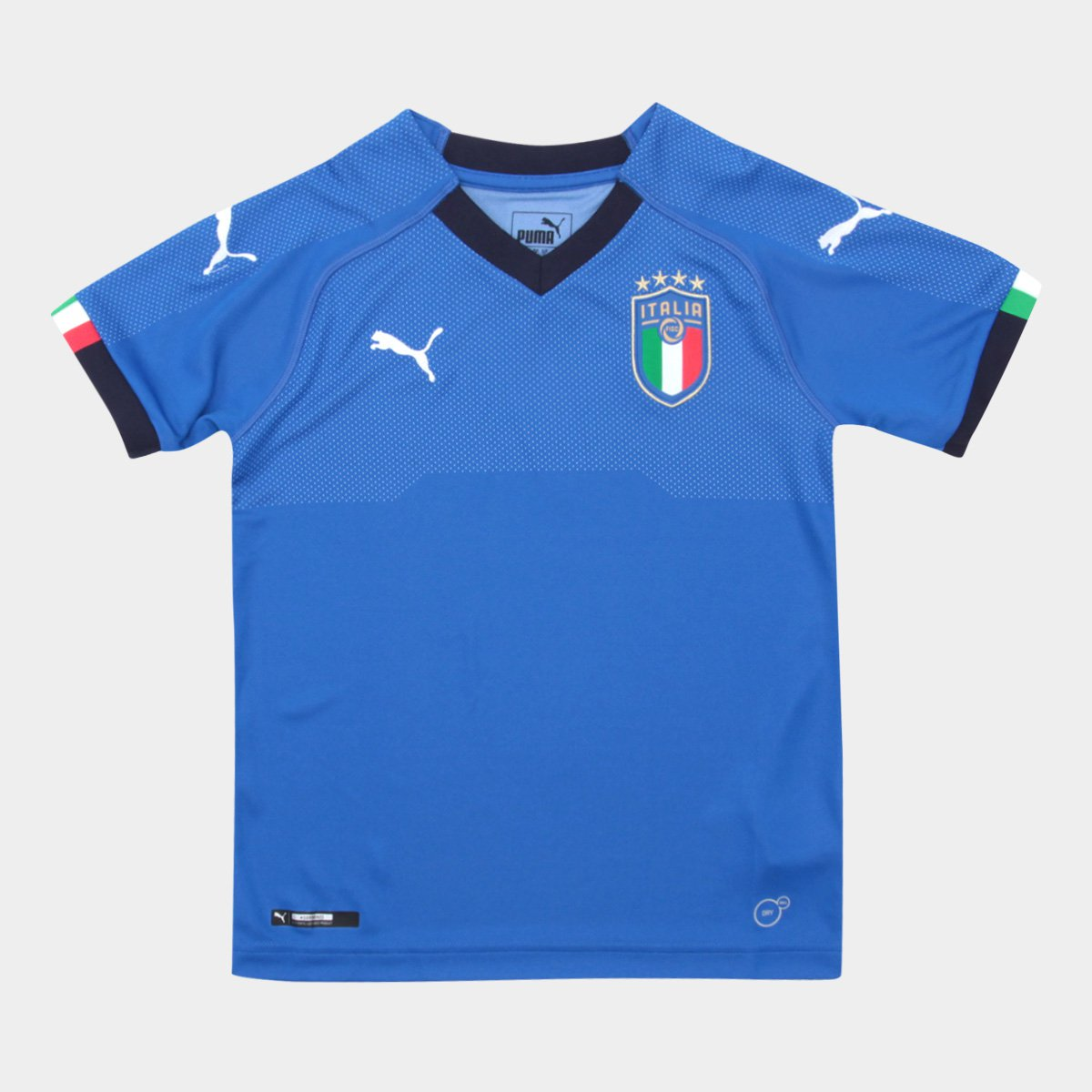 Camisa Seleção Itália Infantil Home 2018 s n° - Torcedor Puma - Compre  Agora  36997c1cc99b3