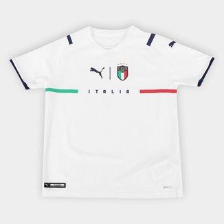Camisa Seleção Itália Juvenil Away 21/22 s/n° Torcedor Puma