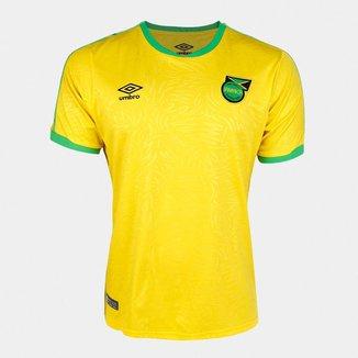 Camisa Seleção Jamaica Home 18/19 s/nº Torcedor Umbro Masculina