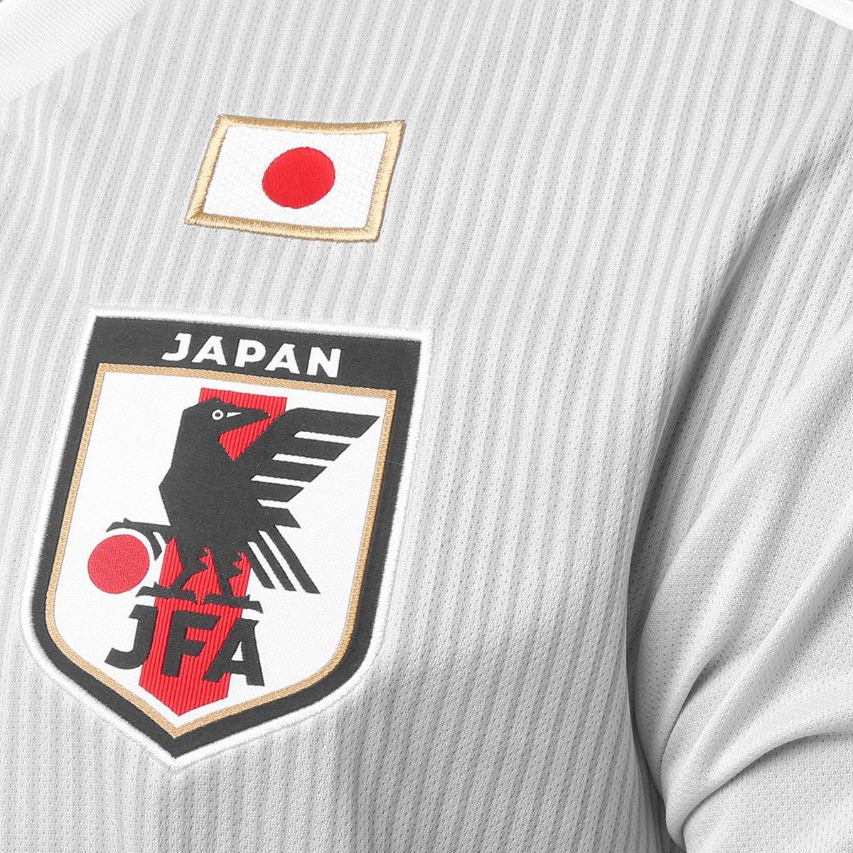 bef494e4ae ... Camisa Seleção Japão Away 18 19 s n° Torcedor Adidas Masculina ...