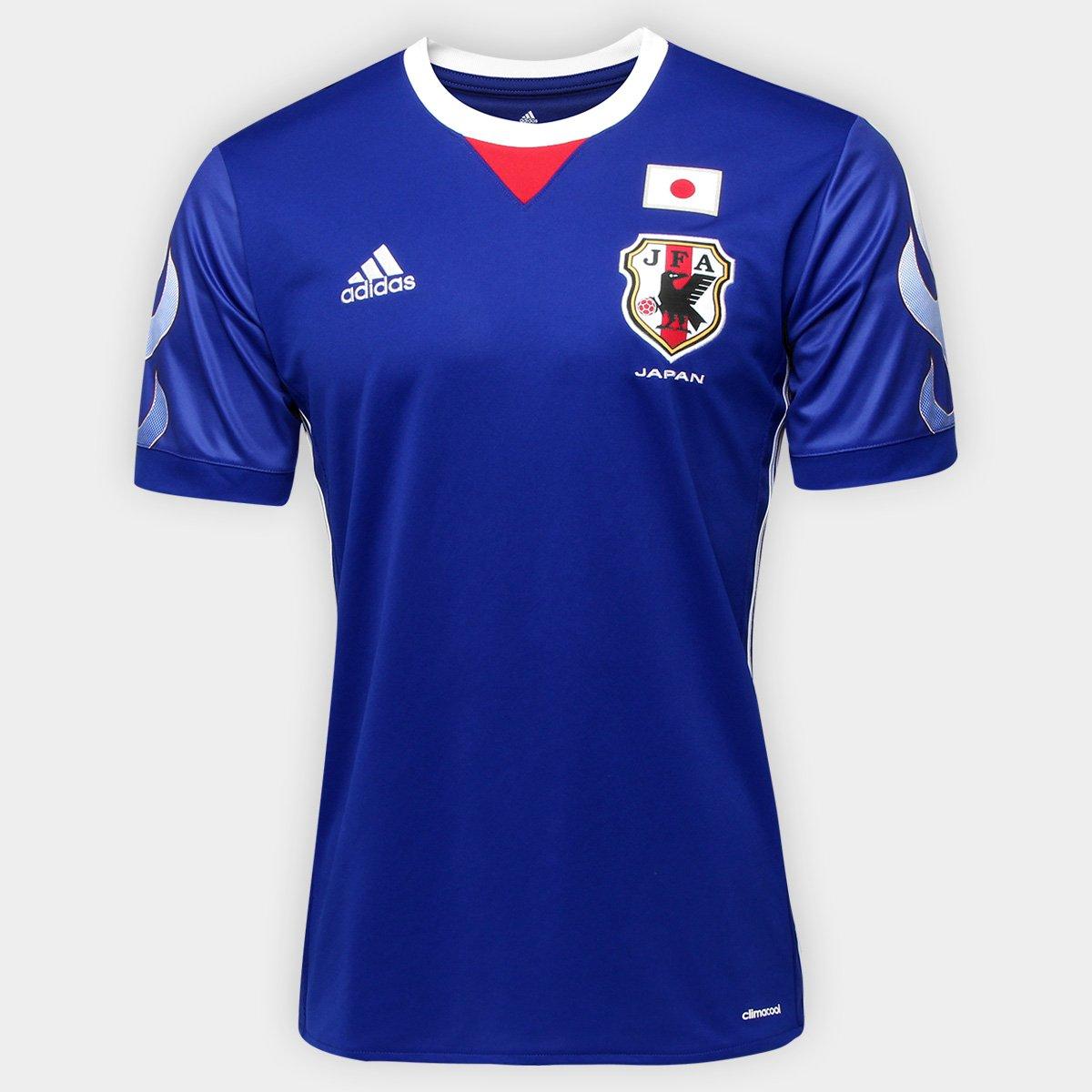 08825e087d Camisa Seleção Japão Home 17 18 s nº Torcedor Adidas Masculina - Compre  Agora
