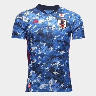 Camisa Seleção Japão Home 19/20 s/nº Torcedor Adidas Masculina