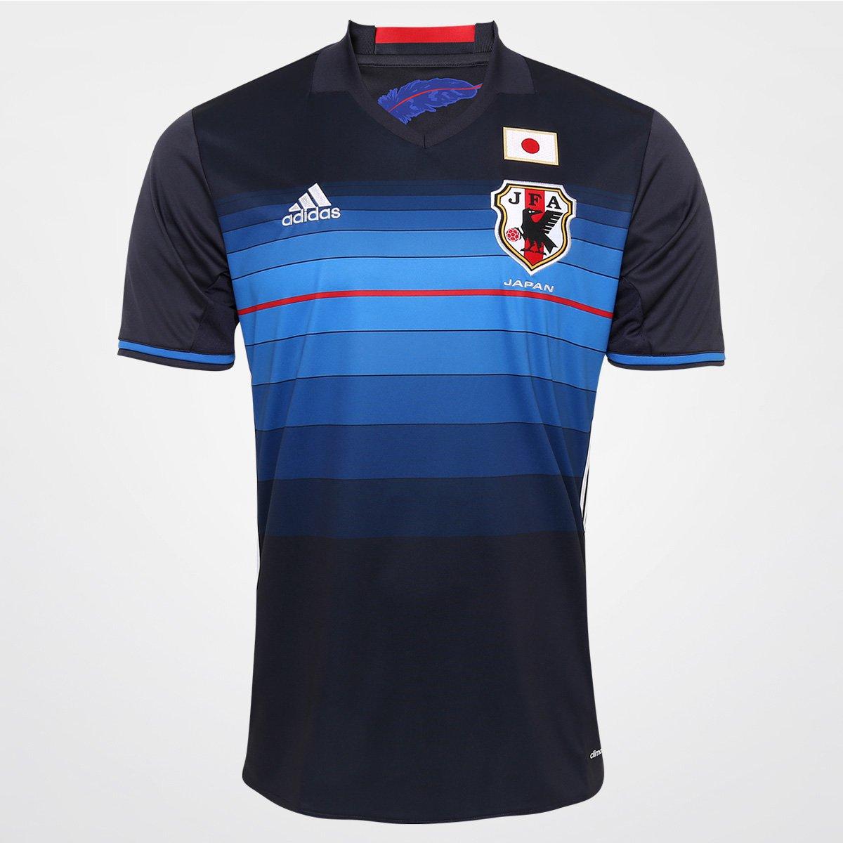 a08fcb003ddcc Camisa Seleção Japão Home 2016 s nº Torcedor Adidas Masculina - Compre  Agora