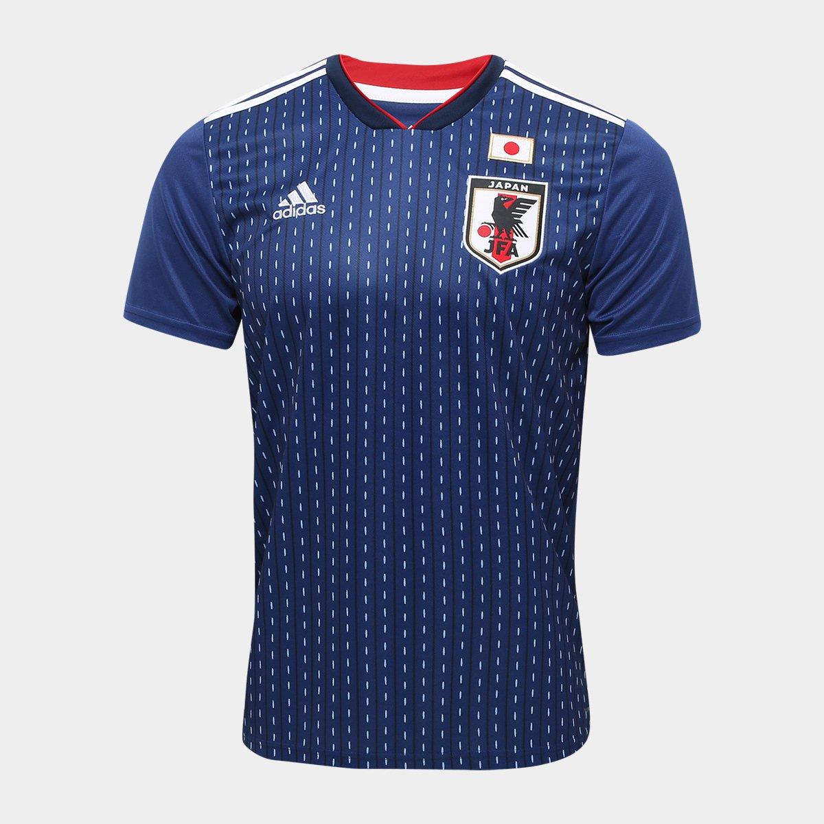 ... Camisa Seleção Japão Home 2018 n° 10 Kagawa - Torcedor Adidas Masculina  ... 0e4c4fce0c24c