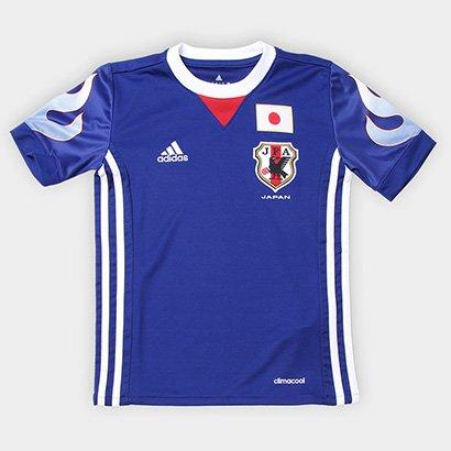 4ca8044bdb A Camisa Seleção Japão Infantil Home 2018 s nº Torcedor Adidas é ideal para  os