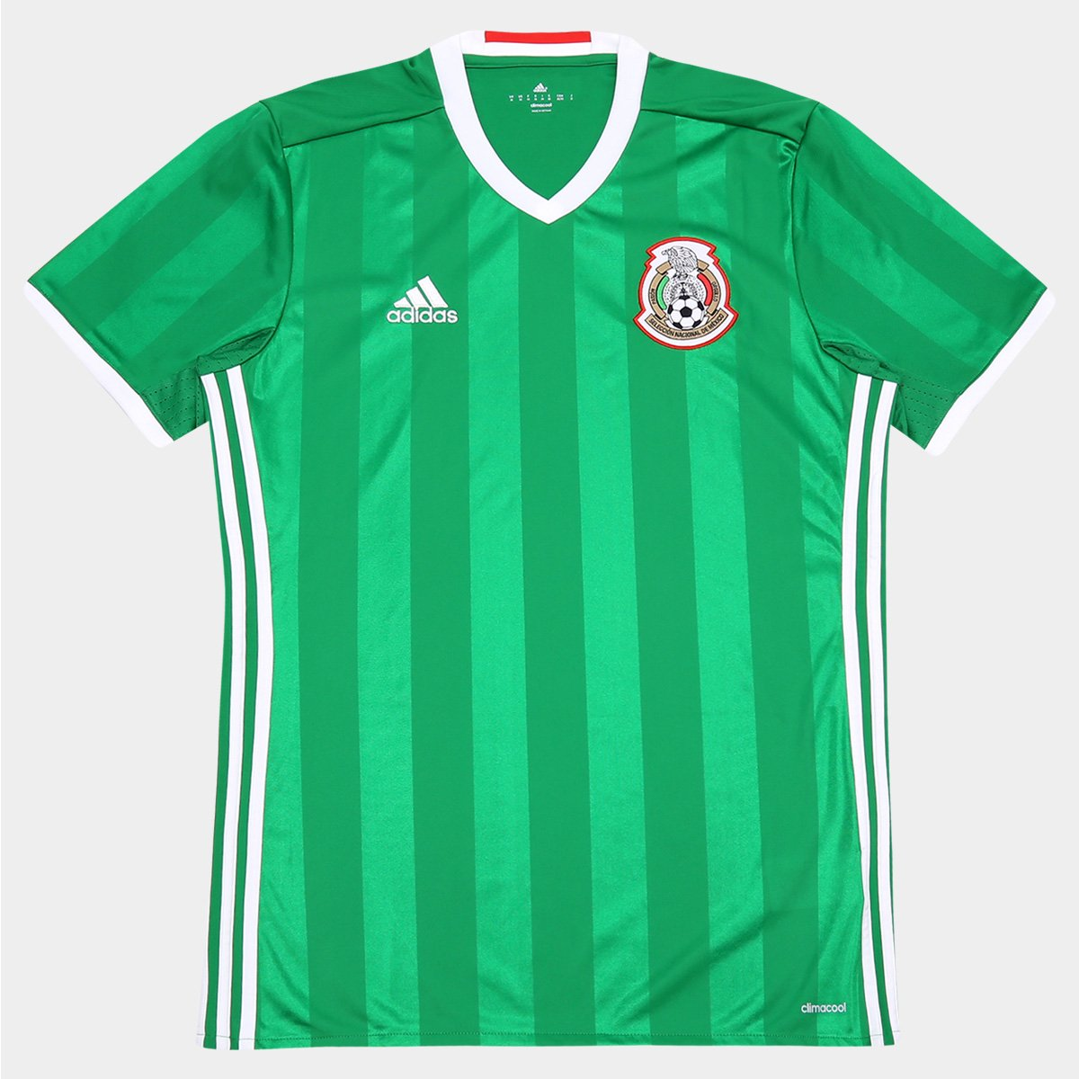 960598106b Camisa Seleção México Home 2016 s nº Torcedor Adidas Masculina - Compre  Agora