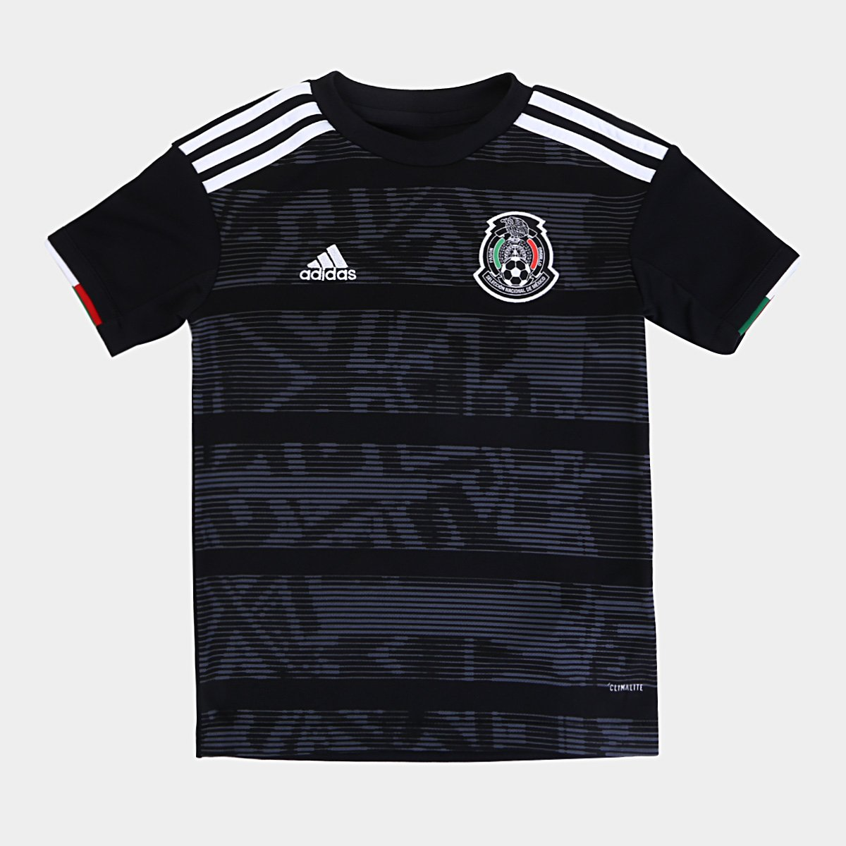 a992fb39cb27c Camisa Seleção México Infantil Home 19/20 s/n° Torcedor Adidas - Preto e  Branco | Netshoes