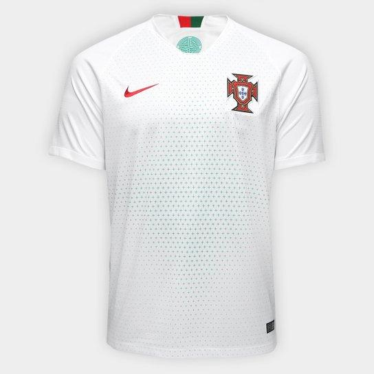 pastel Mancha Absoluto  Camisa Seleção Portugal Away 2018 s/n° Torcedor Nike Masculina | Netshoes