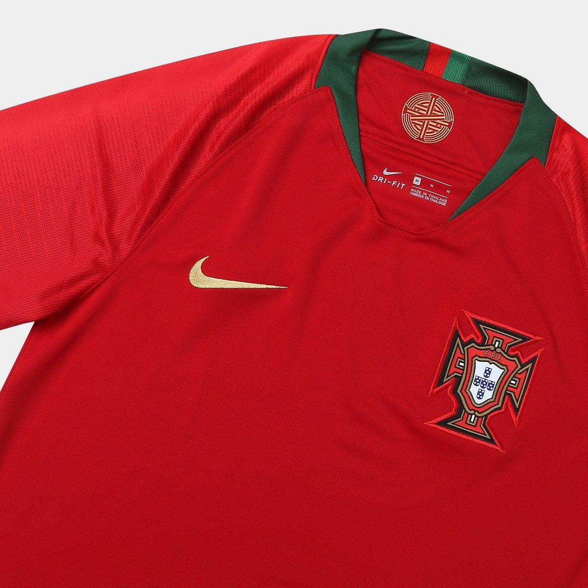 55a8b077f4 ... Camisa Seleção Portugal Home 2018 n° 7 Ronaldo - Torcedor Nike Masculina