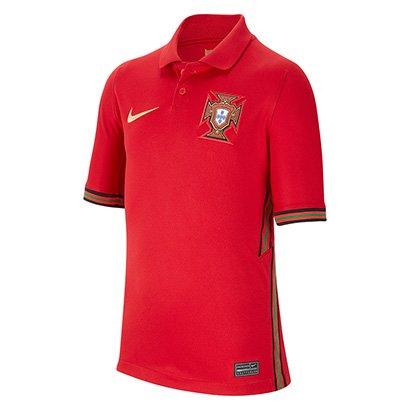 Camisa Seleção Portugal Juvenil Home 20/21 s/n° Torcedor Nike
