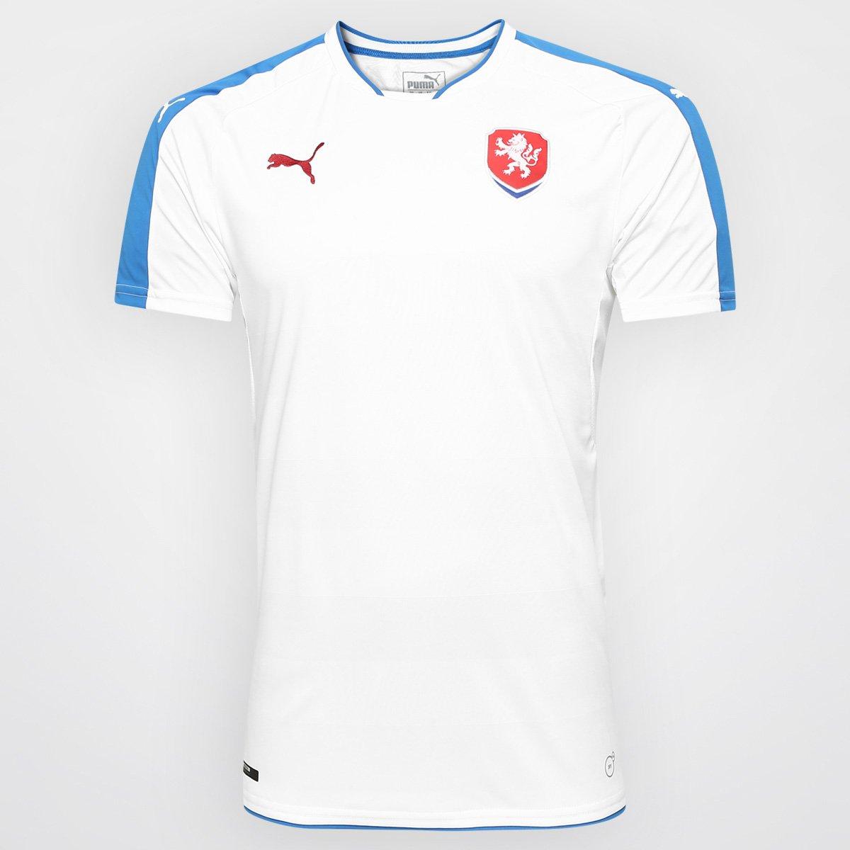 de81a3457786b Camisa Seleção República Tcheca Away 2016 s nº Torcedor Puma Masculina -  Compre Agora