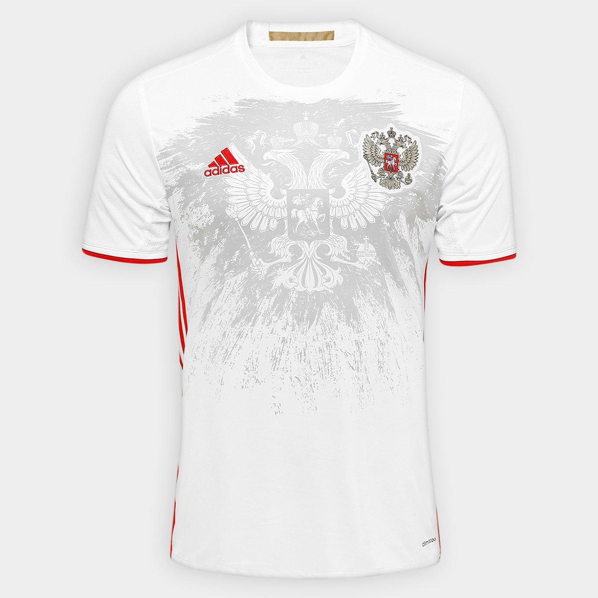 Camisa Seleção Rússia Away 2016 s nº Torcedor Adidas Masculina - Compre  Agora  ded3d72ab94ee