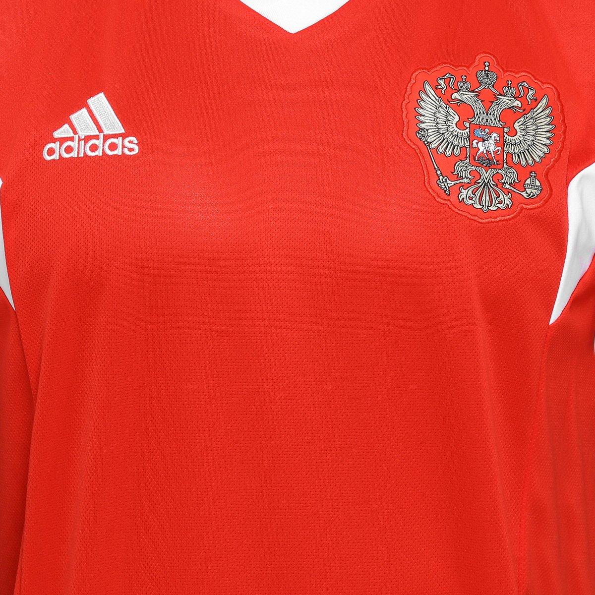 ... Camisa Seleção Rússia Home 2018 s n°Torcedor Adidas Masculina ... 8963e2aa0d86f