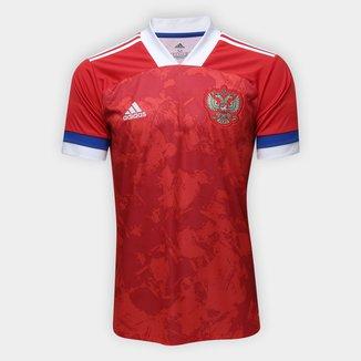 Camisa Seleção Rússia Home 20/21 s/n° Torcedor Adidas Masculina